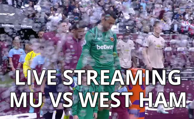 Link Live Streaming MU Vs West Ham
